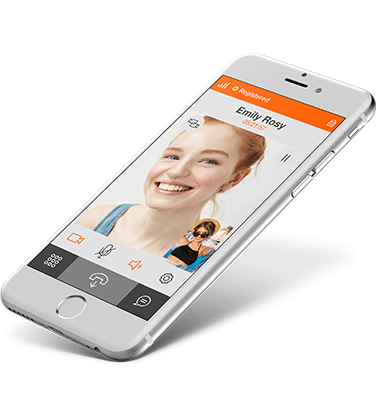 Linphone open source VoIP SIP softphone - voice, video and